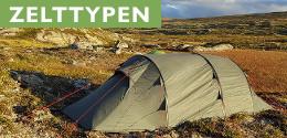 Trekkingzelt Zelttypen